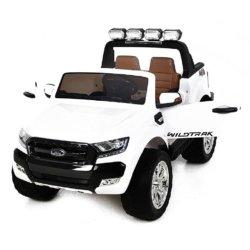 Электромобиль Ford Ranger F650 4WD белый (2х местный, сенсорная медиа панель MP4, резина, кожа, пульт)