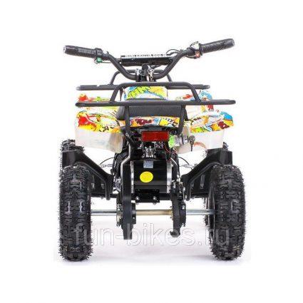Детский квадроцикл на аккумуляторе MOTAX Mini Grizlik Х-16 мощностью 1000W желтый- камуфляж (пульт контроля, до 30 км/ч)